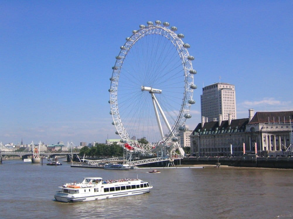 Londres con niños, London Eye