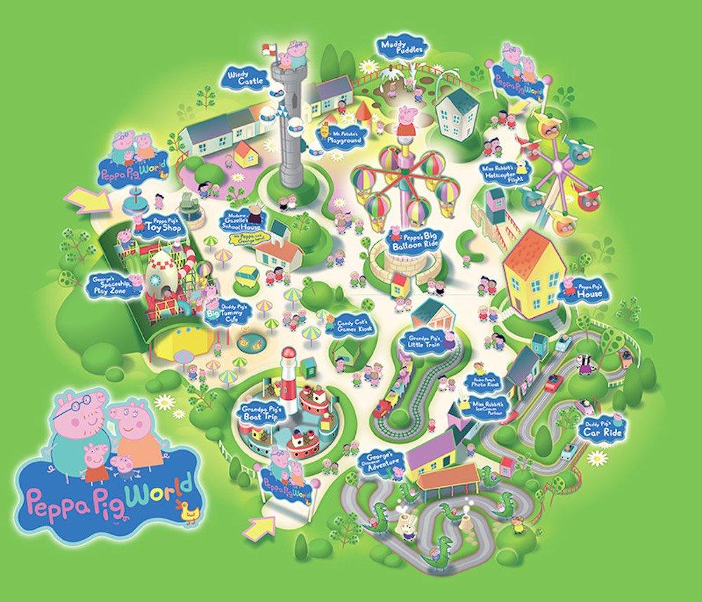 Parque de Peppa Pig en Inglaterra
