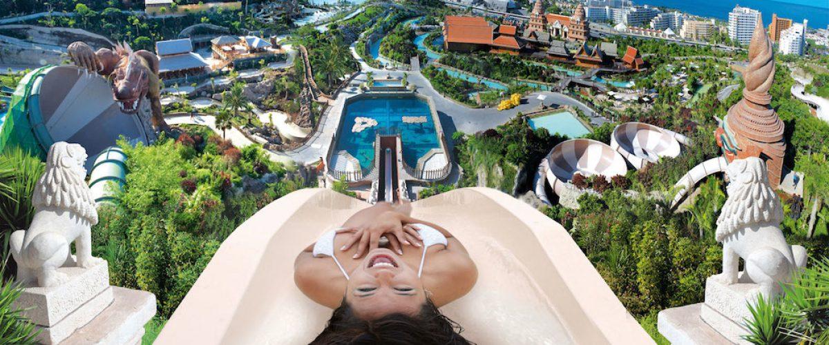 Siam Park, diversión acuática en Tenerife