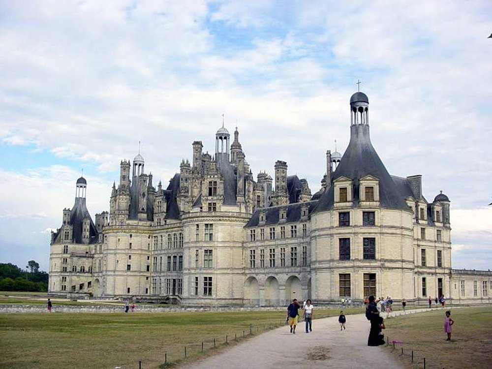 Castillos del Loira con niños