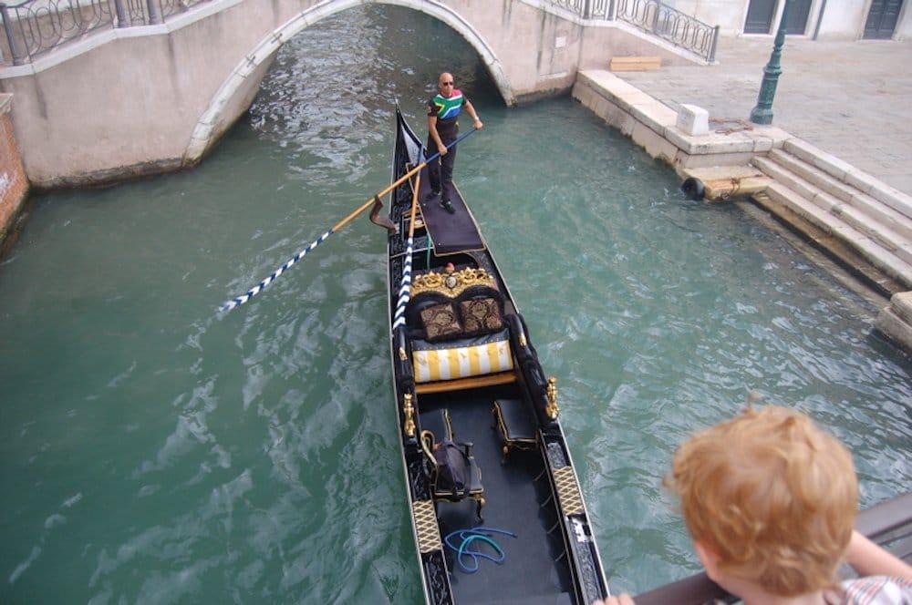 Vacaciones en familia en Venecia