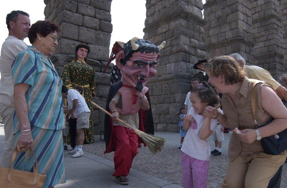 Segovia con niños