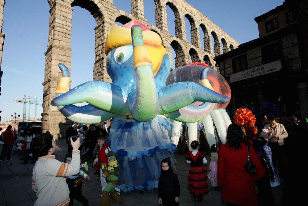 Actividaddes con niños en Segovia