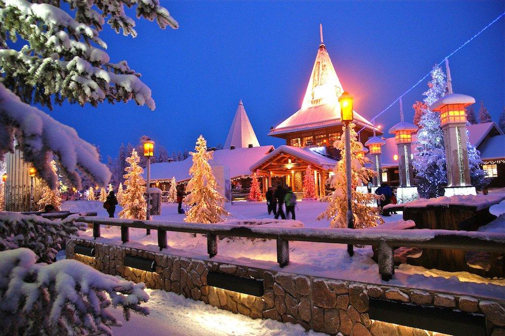 Pueblo de Papá Noel en Laponia