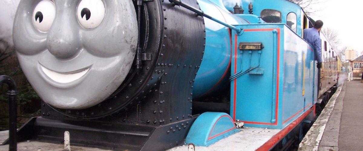 Londres con niños ¡de paseo con el tren Thomas!