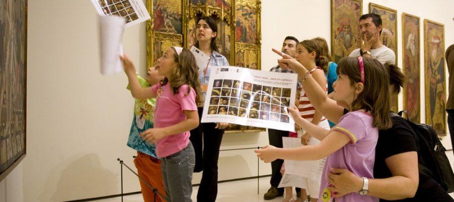 Vacaciones en familia, al museo con los niños