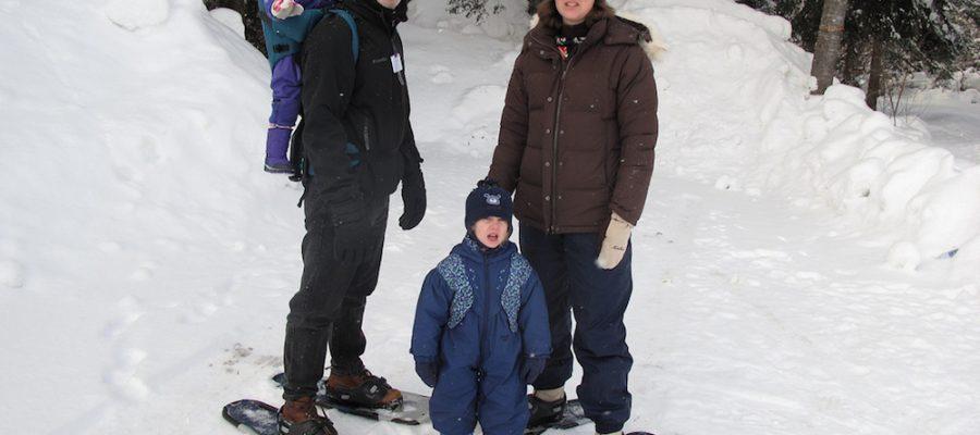 Viajar con niños, ¡preparados para la nieve!