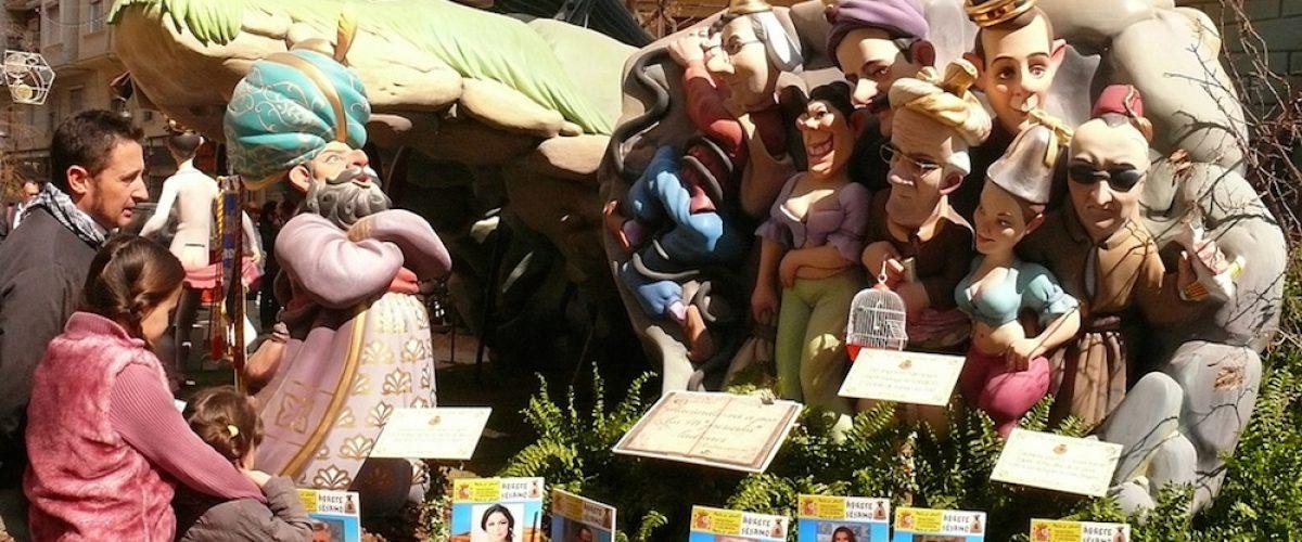 Fallas de Valencia, ¡una escapada con niños espectacular!