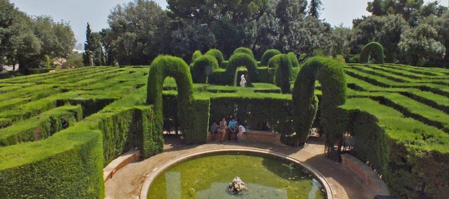 Laberinto de Horta, ¡un gran plan en Barcelona!