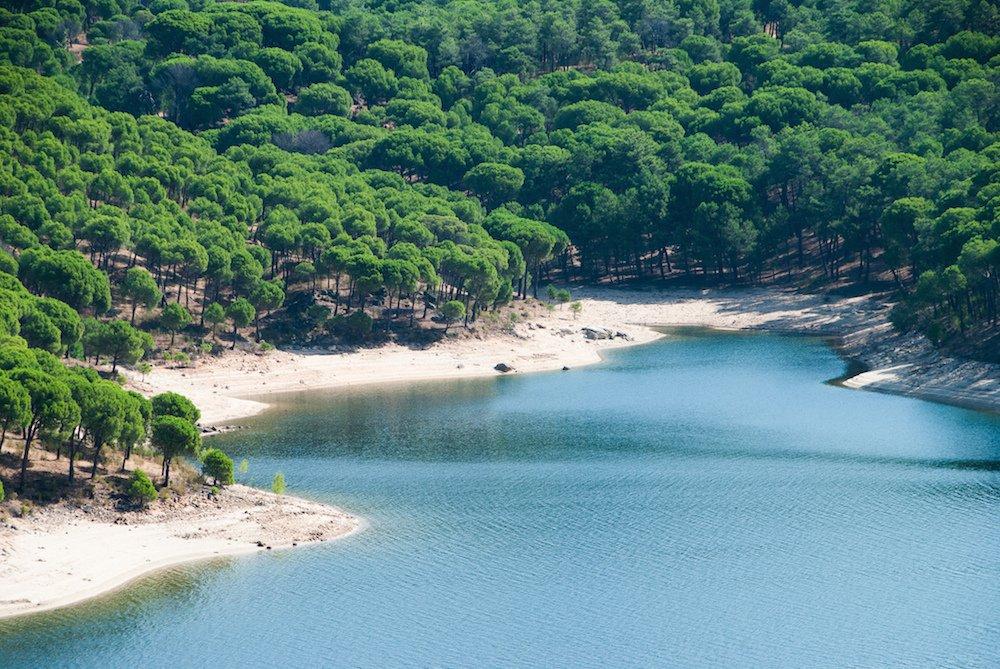 playas interior espana