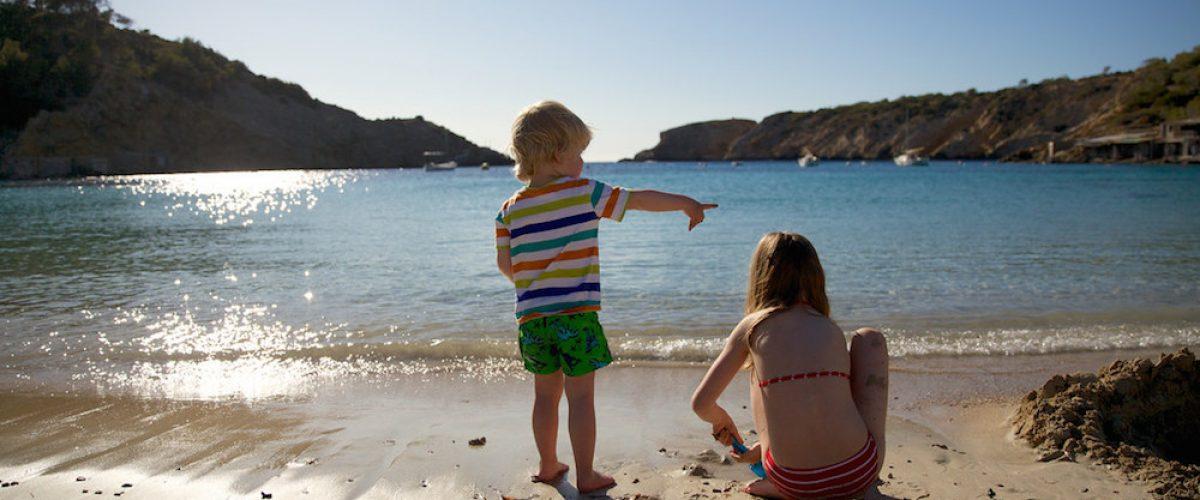 ¿Cuáles son las mejores playas para ir con niños?