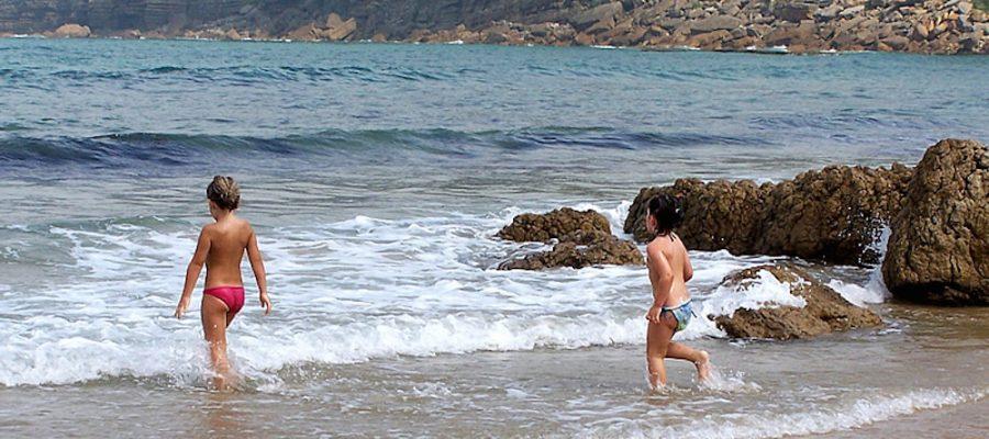 Cantabria con niños, las mejores playas