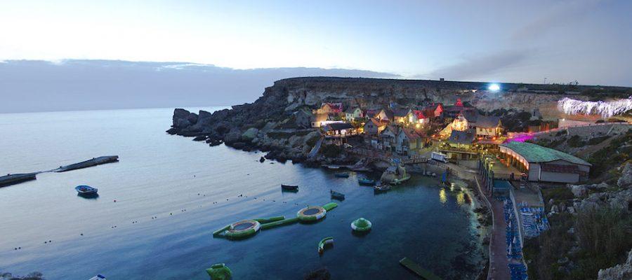 Vacaciones con niños: la aldea de Popeye en Malta