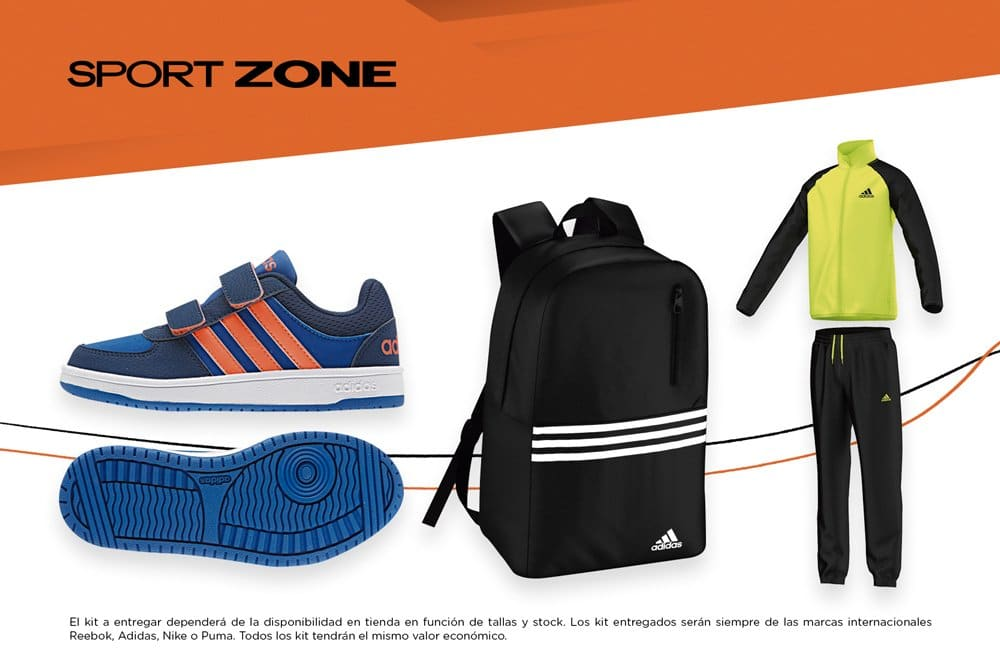 sport zone ropa deportiva niños