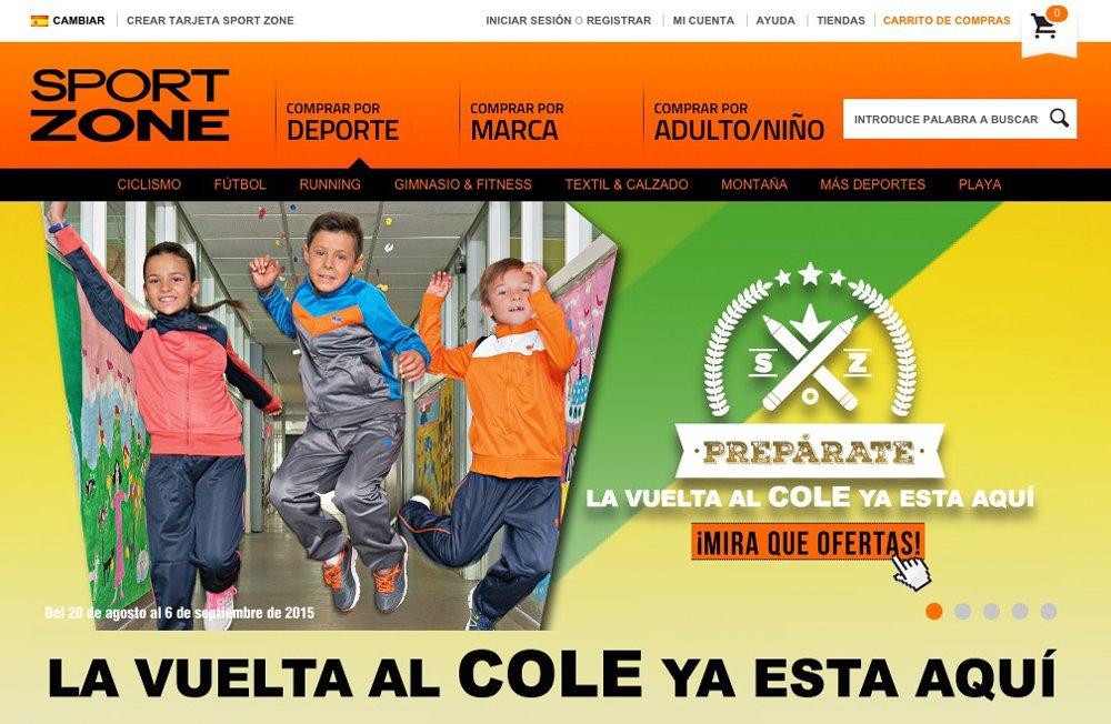 tienda online sport zone