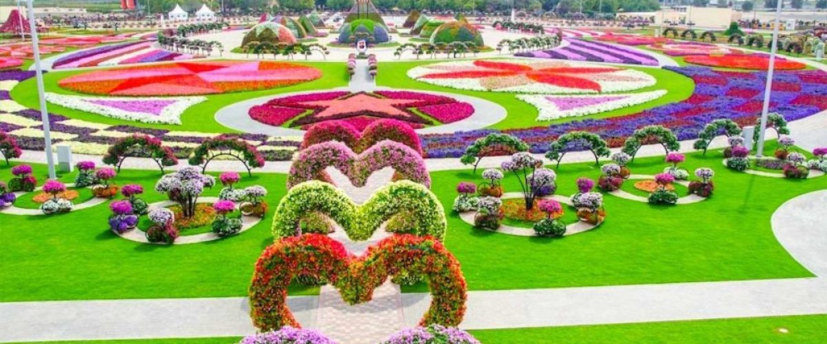 Lugares con encanto: Miracle Garden Dubai