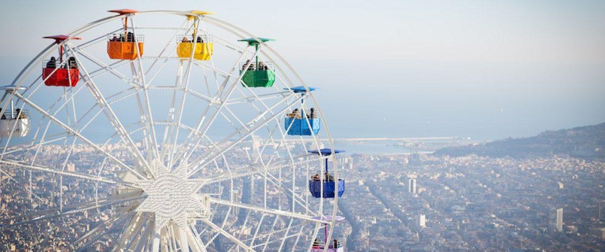 Parque de atracciones tibidabo diversi n en barcelona for Parques ninos barcelona
