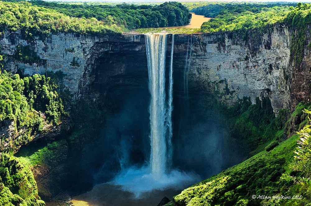 Paisajes naturales las cascadas m s espectaculares del for Cascadas con piedras naturales