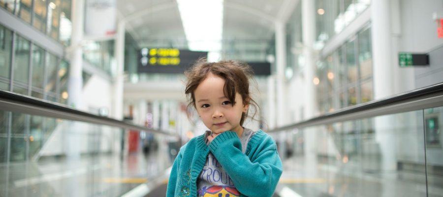 Viajes con niños, aeropuertos kids-friendly