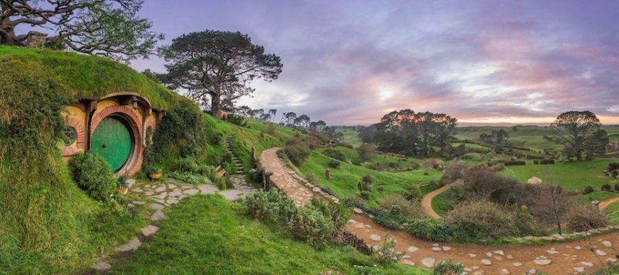 Lugares con encanto, Hobbiton en Nueva Zelanda