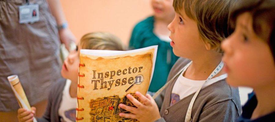 Actividades para niños en el Museo Thyssen-Bornemisza