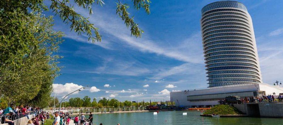 Planes con niños, Parque del Agua en Zaragoza