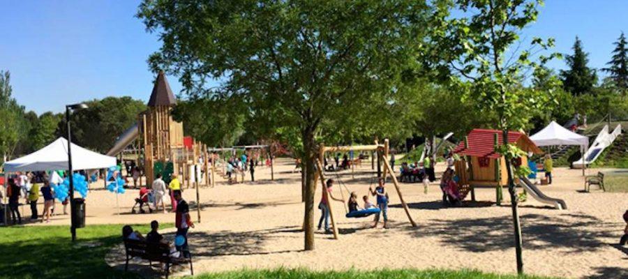 Parques infantiles: Ciudad de los niños en Getafe