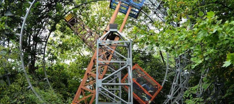 Un parque de atracciones ¡sin electricidad!