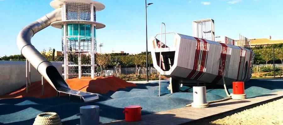 Parques infantiles: Parque de las Familias en Almería
