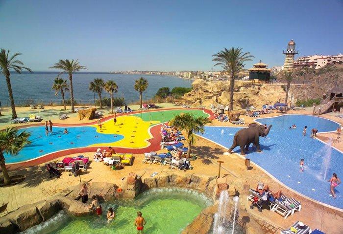 hoteles para niños costa del sol