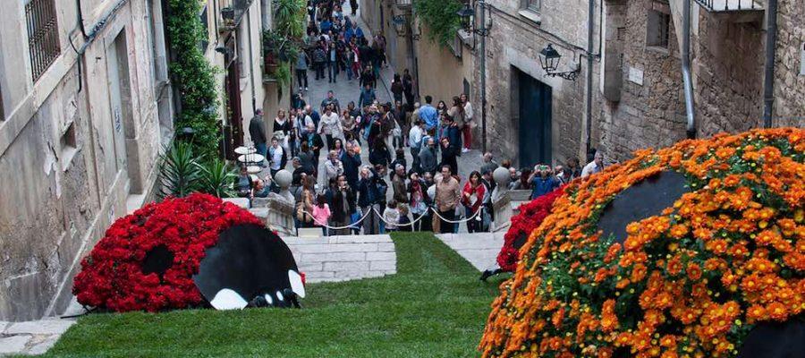 Planes con niños, Fiesta de las Flores de Girona