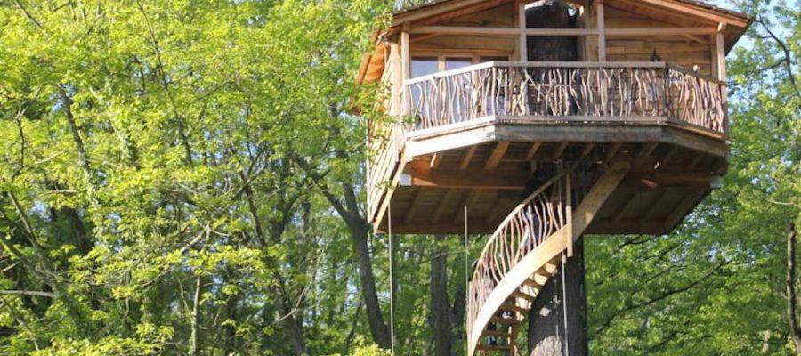 Cabañas en los árboles, ¡turismo rural por los aires!