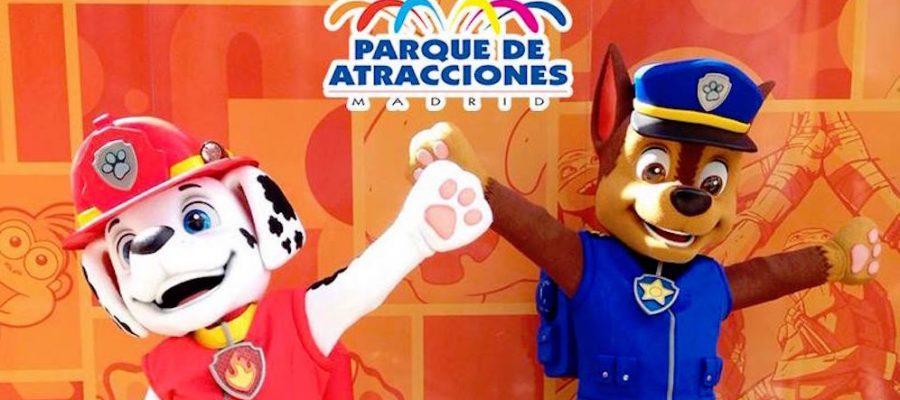 ¡La Patrulla Canina en el Parque de Atracciones de Madrid!