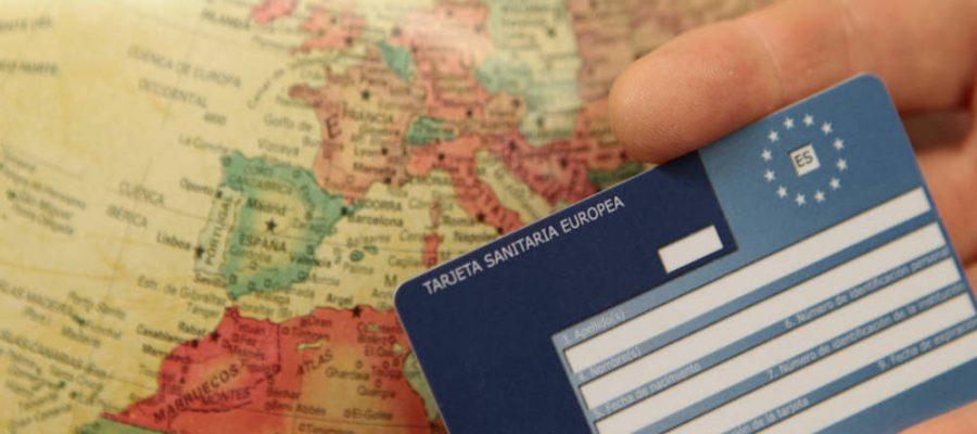 Viajar con niños, Tarjeta Sanitaria Europea