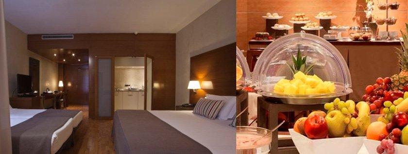 4 hoteles para familias numerosas pequeviajes for Hoteles en barcelona centro para familias