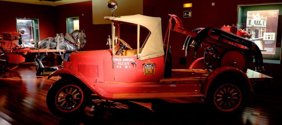 Museos para niños: Museo de Bomberos de Alcoy