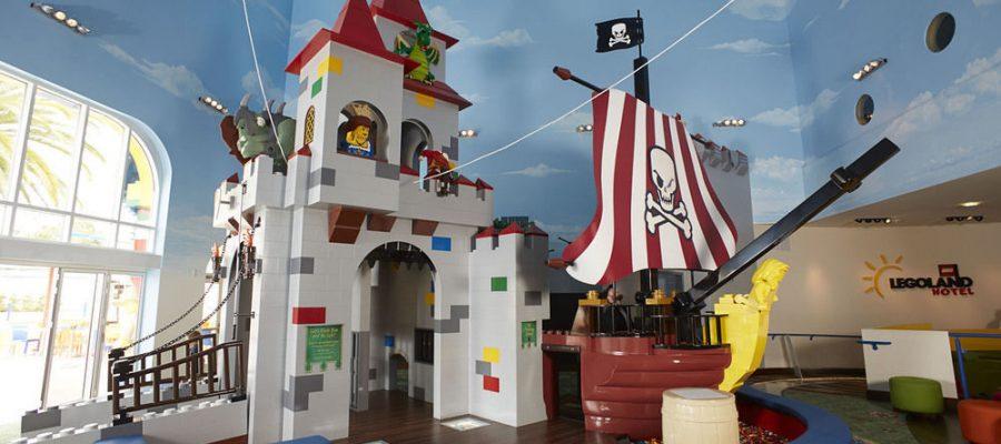 Hoteles para niños ¡de Lego! en los parques Legoland