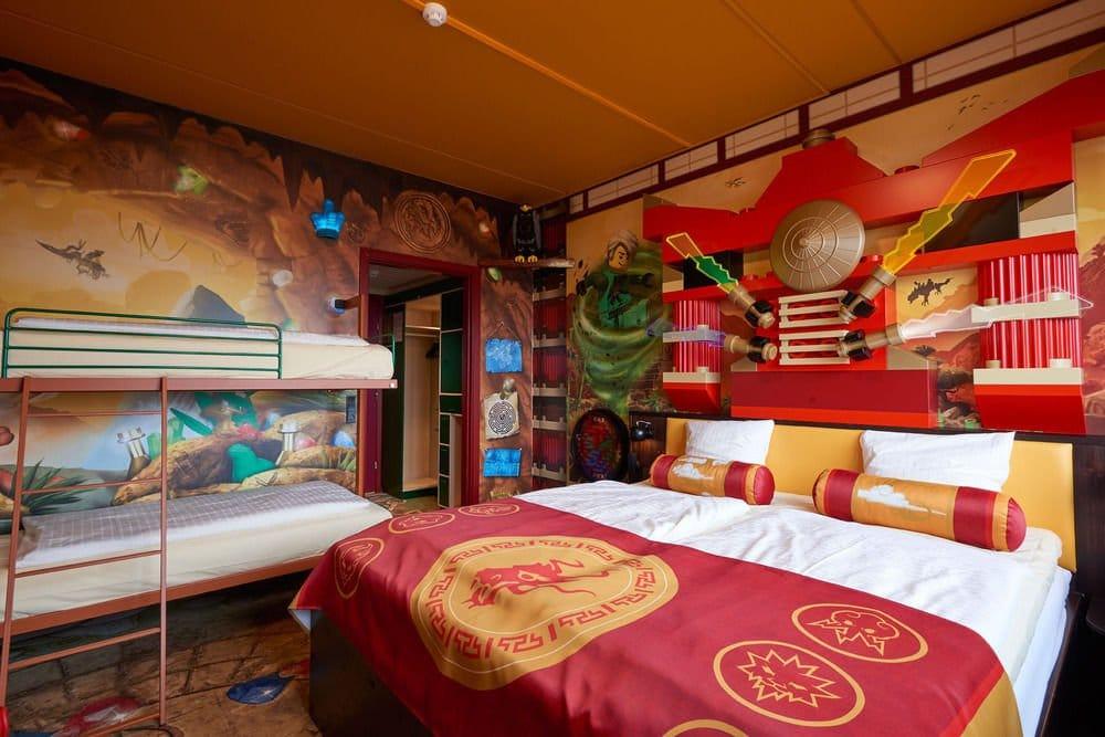 Hoteles Para Ni 241 Os 161 De Lego En Los Parques Legoland