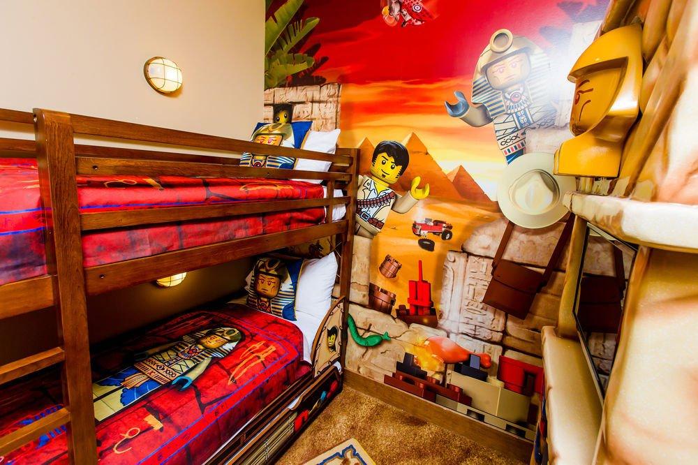 Hoteles para ni os de lego en los parques legoland pequeviajes - Habitaciones tematicas para ninos ...