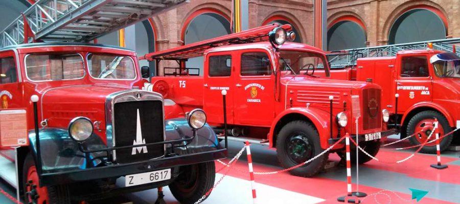 Zaragoza con niños, Museo del Fuego y de los Bomberos