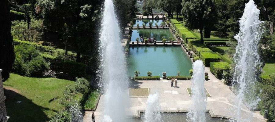 Viajar a Roma con niños: descubre Tívoli