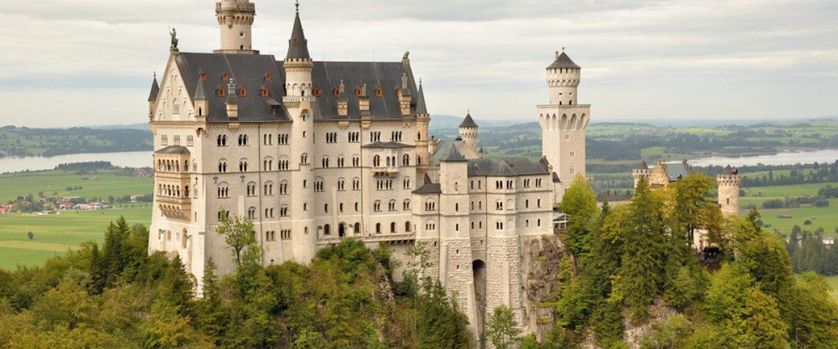 9 de los castillos más bonitos de Europa