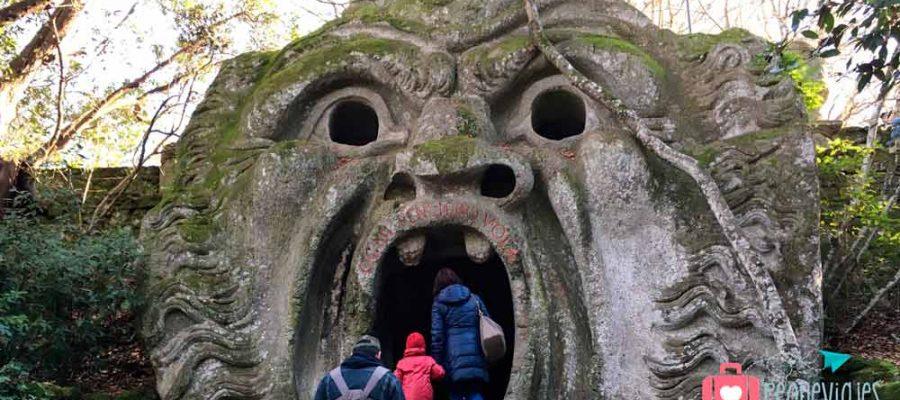 Italia con niños, el Parco dei Mostri