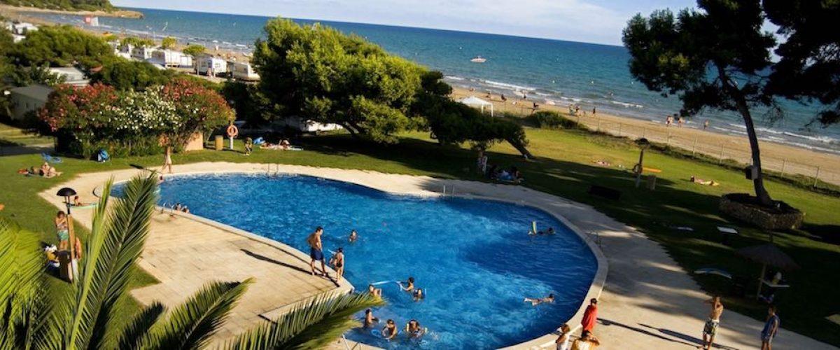 Camping Las Palmeras, sol y playa en Costa Dorada