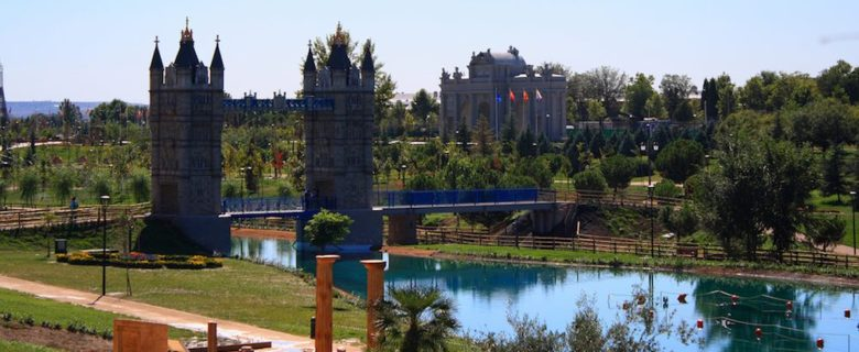 Parque Europa: horarios, monumentos e información sobre el parque