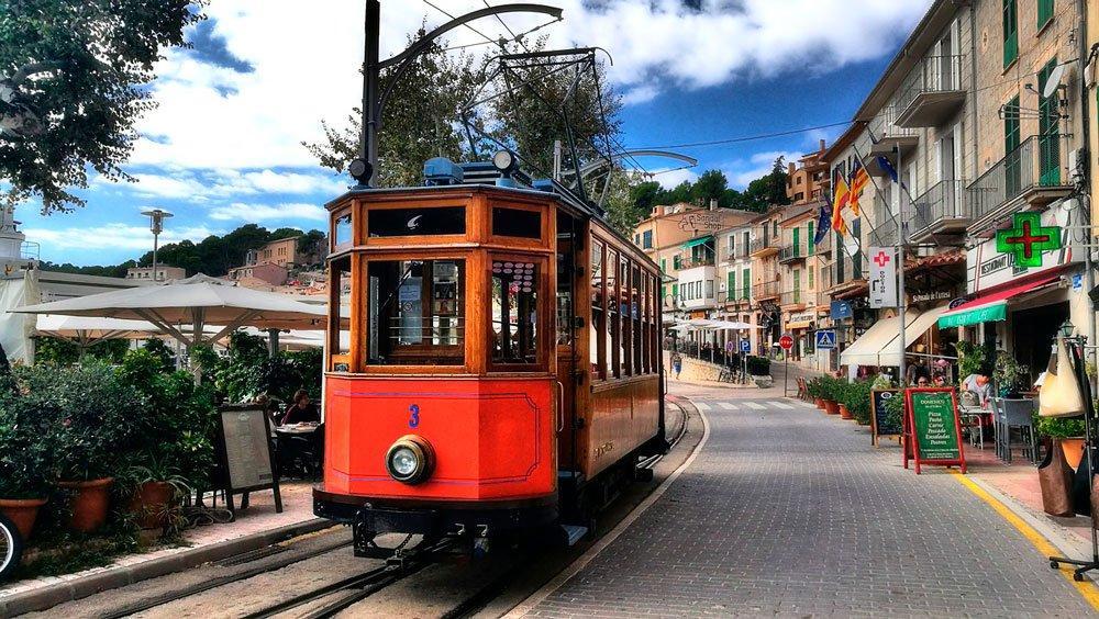 Tren Soller Mallorca