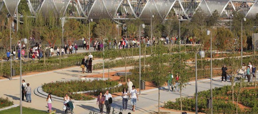 Madrid Río, planes para disfrutarlo en familia