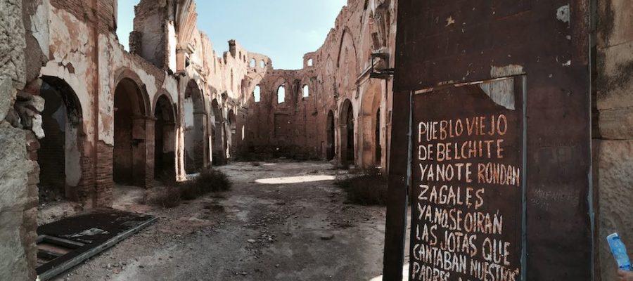Belchite, el pueblo fantasma de la Guerra Civil